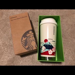 NWT You are Here Starbucks Japan Tumbler